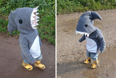 Sudadera, buzo o chompa muy ingeniosa  estilo tiburón