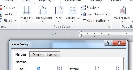 Office 2007 and 2010 Errors & Solutions: How to adjust Table of Contents (TOC) Page Margin in MS Word