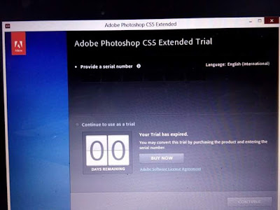 mengatasi photoshop extended trial