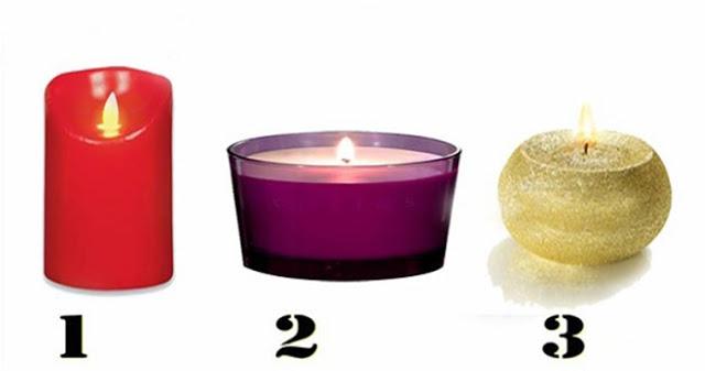 Личностный тест: выберите свечу!