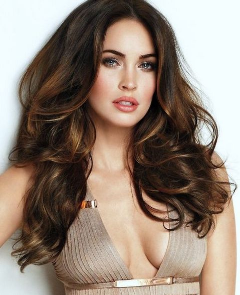 07 long dark brunette hair with caramel balayage