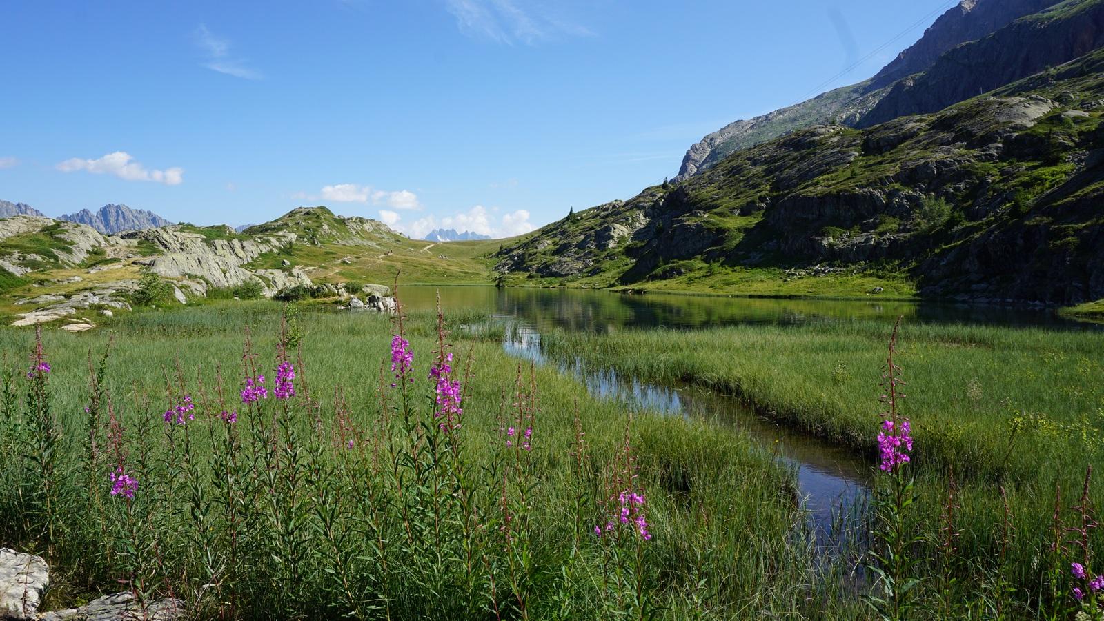 Lac Faucille Alpe d'Huez