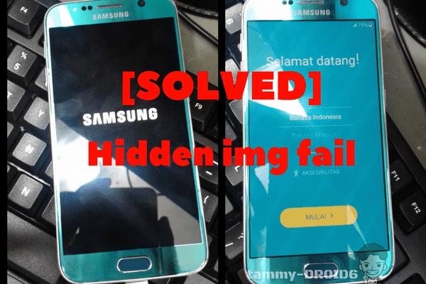 [SOLVED] G920F Odin flash error hidden. img FAIL | Samsung Galaxy S6