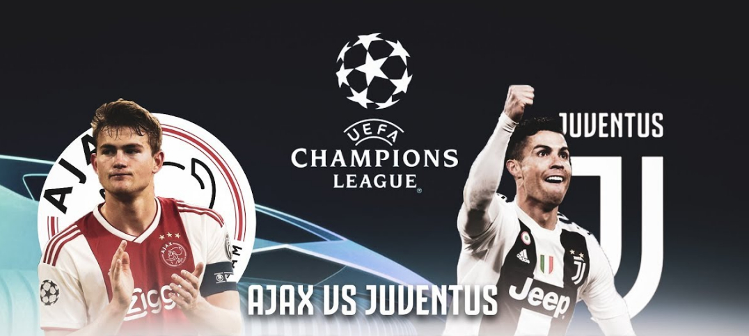 Vedere Ajax Juventus Rojadiretca Streaming Gratis RAI con CR7 Cristiano Ronaldo.