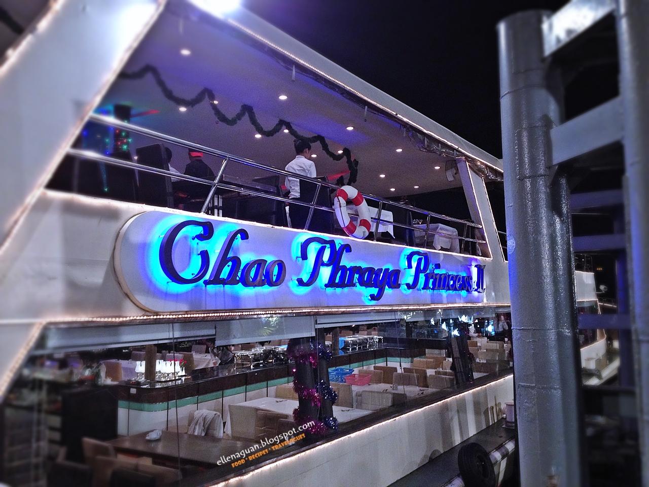 ăn tối buffet trên sông Chao Phraya du thuyền