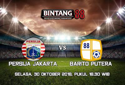 Prediksi Persija Jakarta vs Barito Putera 30 Oktober 2018