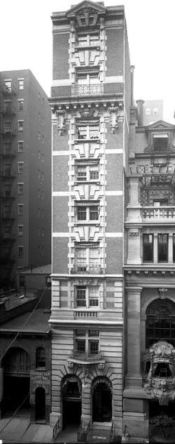New York City: Club Row: West 44th Street