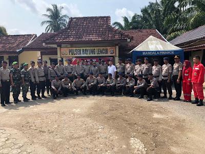Kapolres Muba: Antisipasi Karhutbunlah, Puluhan BKO Brimob Nusantara Turut Di Terjunkan