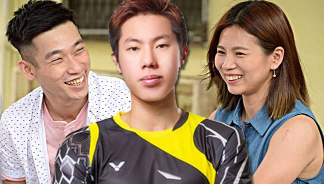 Badminton silver medallists Chan Peng Soon, Goh V Shem and Goh Liu Ying are making their acting debut in a local Chinese film.