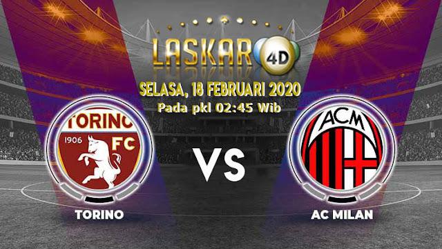 Prediksi Pertandingan AC Milan vs Torino 18 Februari 2020