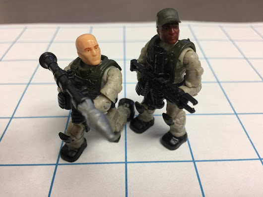 My first Micro Action Figures have arrived!