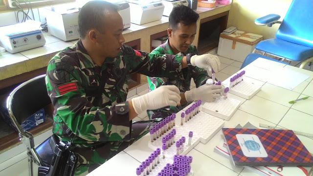 Satgas Pamrahwan Raider 509/Kostrad Gelar Penyuluhan HIV/AIDS di Papua
