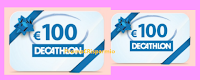 Logo Decathlon #LaMiaSfida'' : vinci buoni da 100 euro