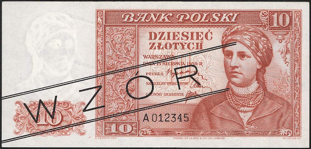 World money Poland currency 10 Polish złoty banknotes pictures