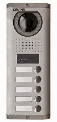 Panel wieloabonentowy KENWEI z czytnikiem kart RFID