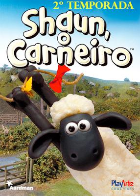 Série Shaun O Carneiro 2ª Temporada DVD Capa