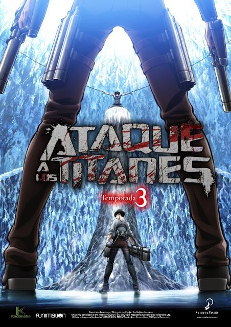 La tercera temporada de Shingeki no Kyojin 進撃の巨人 (Ataque a los Titanes / Attack on Titan)