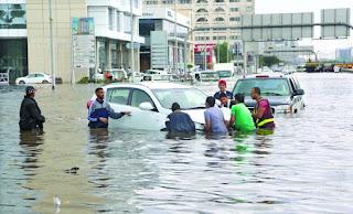 Heavy rain brings pain back to Jeddah  - forces rescued 400 people in Makkah