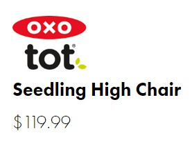 Oxo Tot Seedling High Chair Price 2