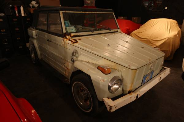 Barn Find Thursday 1974 Vw Thing Project No Need To Bring A Trailer This Project Runs