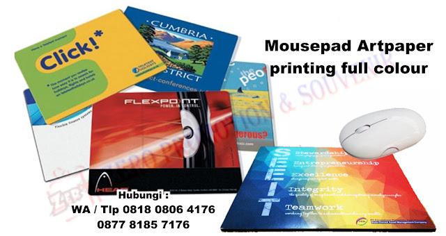 Souvenir Mouse Pad, MOUSE PAD BAHAN ART PAPER,  Souvenir tatakan mouse, mousepad cetak custom, SOUVENIR MOUSEPAD PROMOSI DESIGN BEBAS