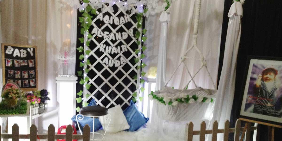 Jasa Dekorasi Aqiqah Banda Aceh