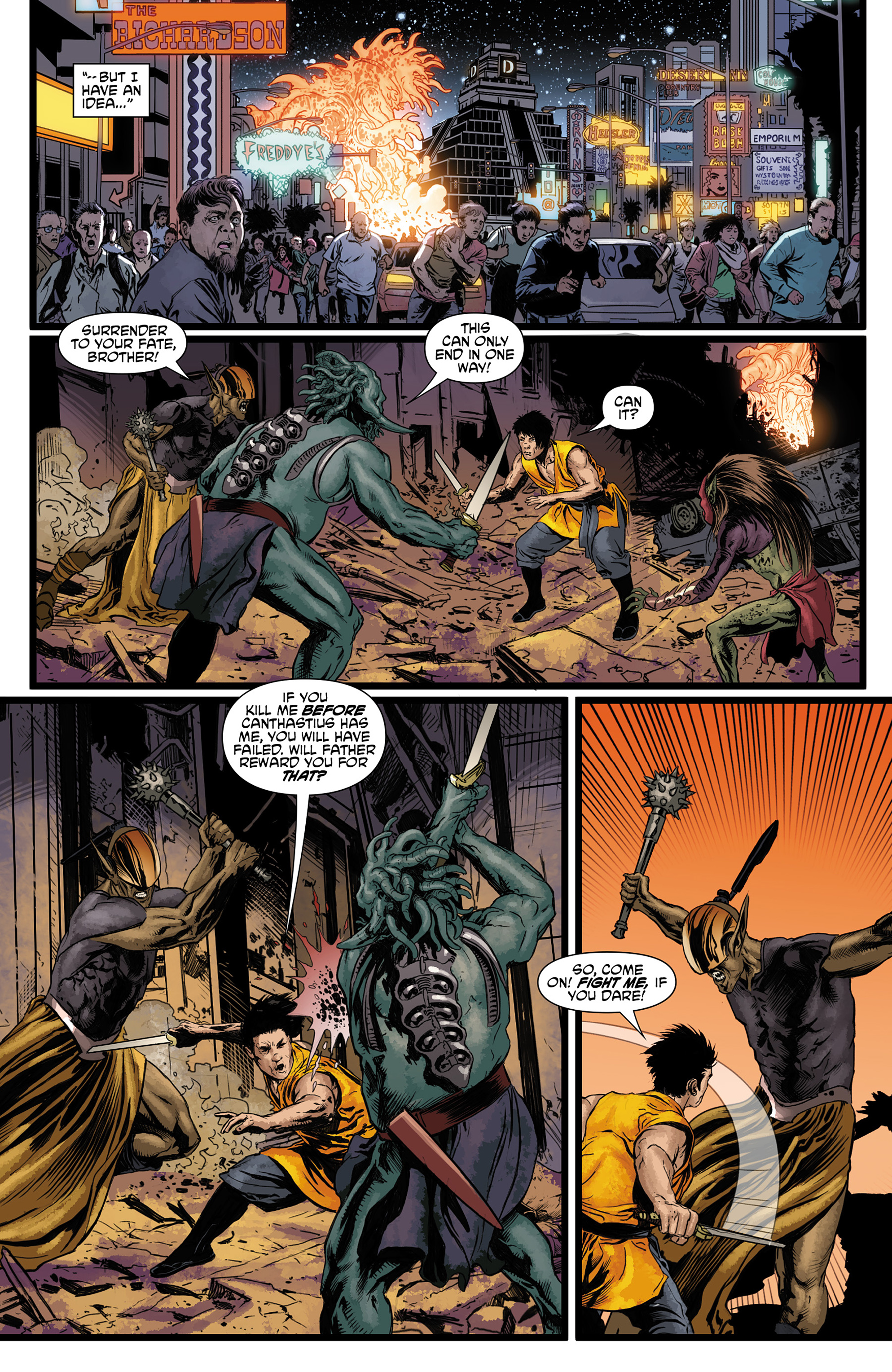 Read online King Tiger comic -  Issue #3 - 10
