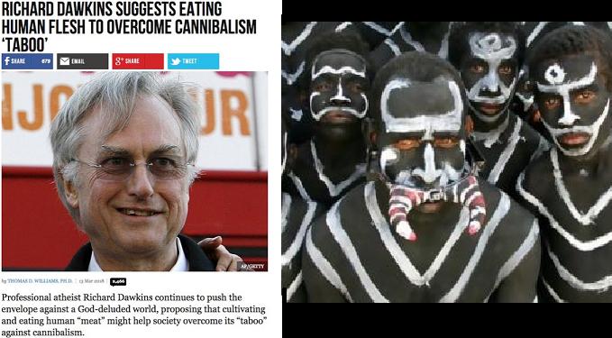 Ο Richard Dawkins προτείνει να τρώμε ανθρώπινο κρέας για να ξεπεράσουμε το «ταμπού» του κανιβαλισμού