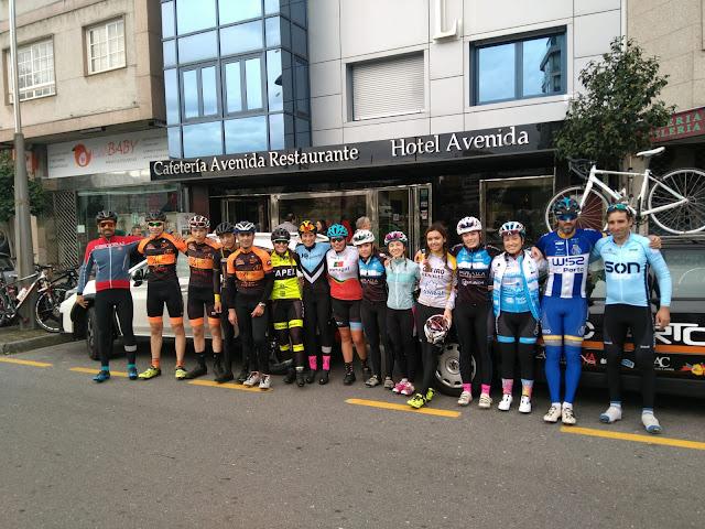 equipo ciclista del Aleata Farto