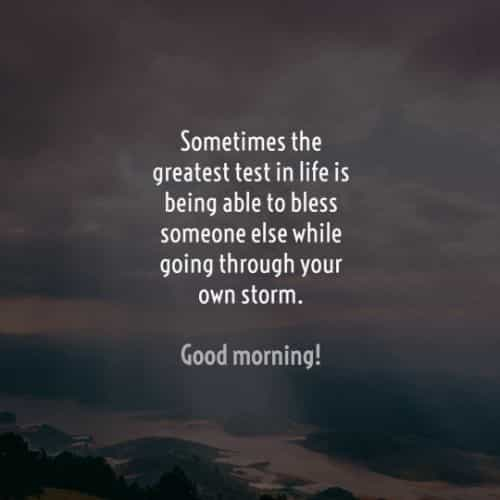 Beautiful good morning inspirational quotes and sayings