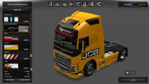 JBC Skin for Volvo 2012