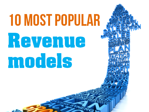 10 Most Popular revenue models being used by startups today