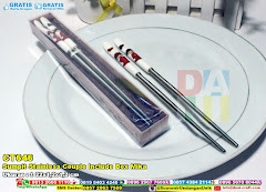 Sumpit Stainless Couple Include Box Mika