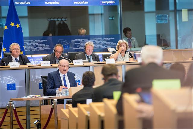 Escrutinio en el Parlamento Europeo