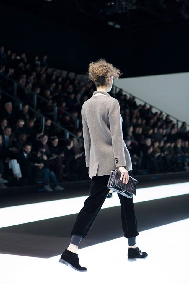 Giorgio Armani Fall Winter 2016-2017 Milan Fashion Week