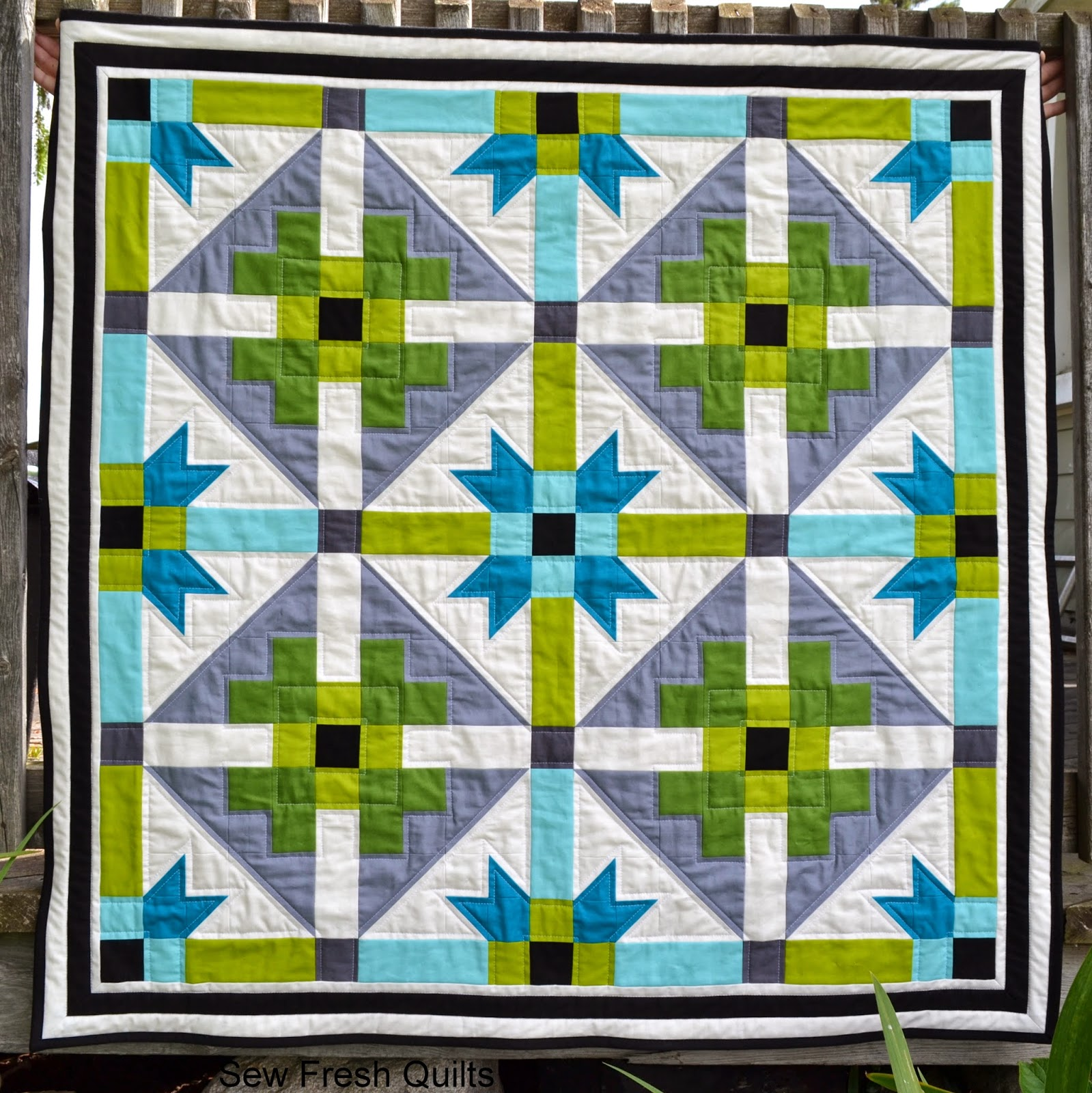 http://sewfreshquilts.blogspot.ca/2014/07/genx-aztec-baby-quilt-with-tutorial.html