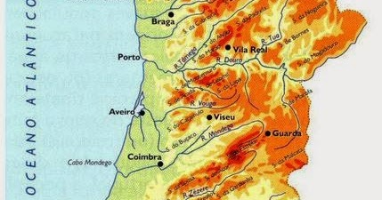 mapa hipsométrico de portugal Lume & Ar: O Mapa Hipsométrico de Portugal mapa hipsométrico de portugal