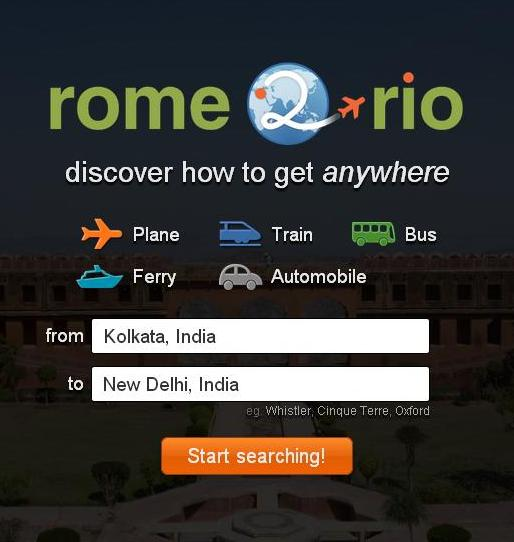 Rome2rio a Best Travel Search Guide for Airlines and Railways