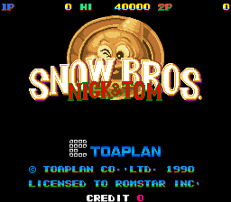 Cover Photo Download Free Snow Bros PC Game collection 2016 highly compressed
