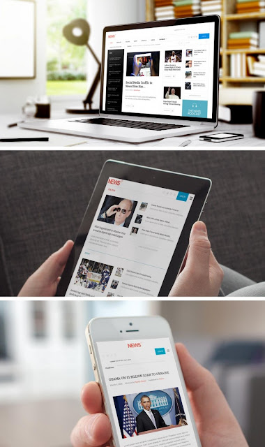 Free Download News2 v1.5 Gavickpro WordPress Theme
