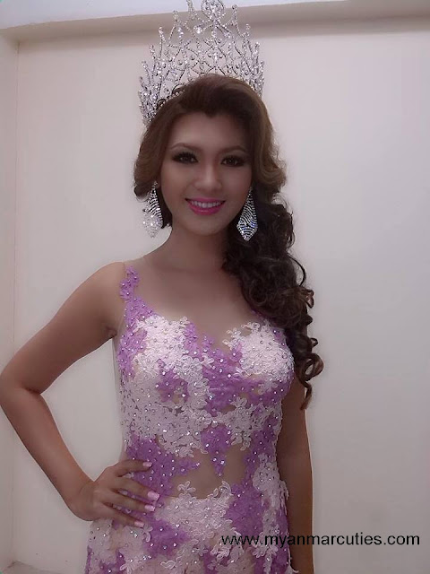 Waist No:16- Yoon Mhi Mhi Kyaw beauty queen