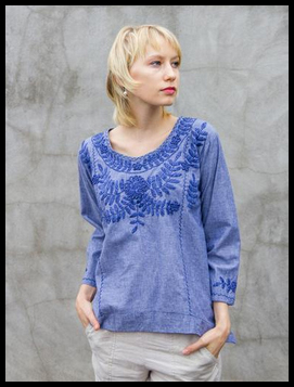 26d7b4c231b Abrazo Style - Clothing and accessories handmade in Oaxaca and Chiapas,  Mexico. Abrazos is best known for their stunning hand-embroidered cotton  blouses and ...