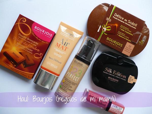 Haul: Regalos de maquillaje Bourjois de mi Mamá...
