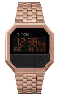 Nixon A15889700 Re-Run Rose Gold