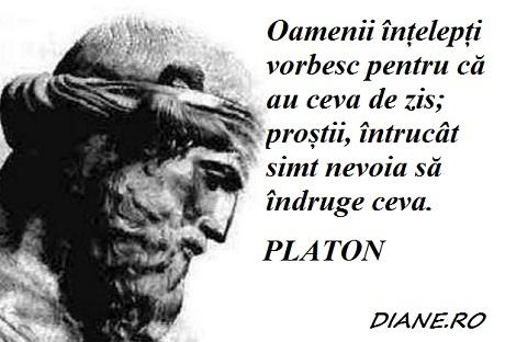 platon citate Platon în citate, aforisme, maxime   diane.ro platon citate
