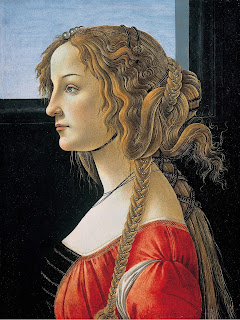 Another Botticelli Portrait of a Woman, clearly of the same model
