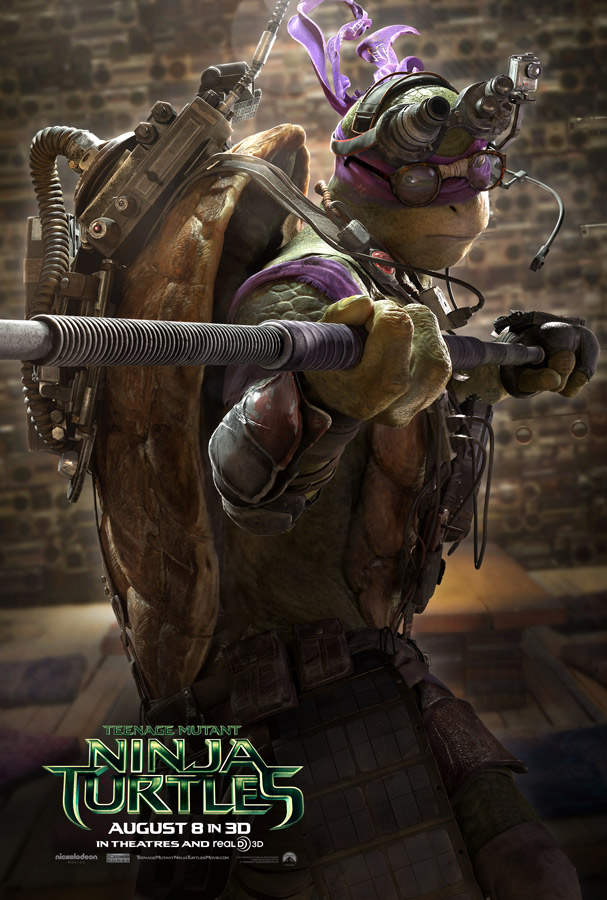 TEENAGE MUTANT NINJA TURTLES 2014 - Donatello