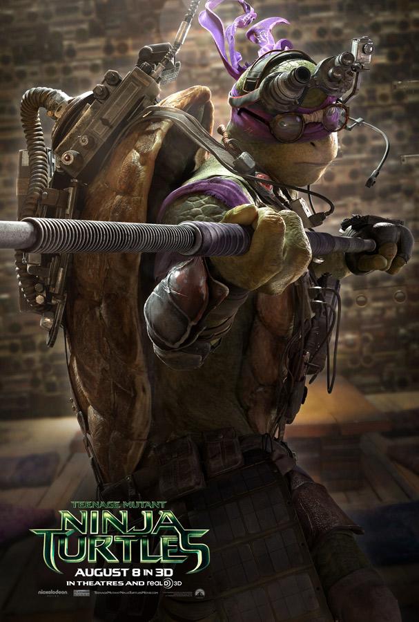 TEENAGE MUTANT NINJA TURTLES 2014 - Donatello