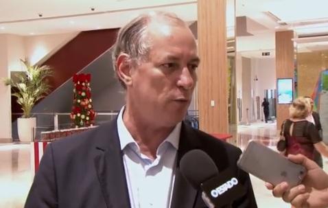 Ciro defende Diretas Já e cita Tasso em caso de eleição indireta