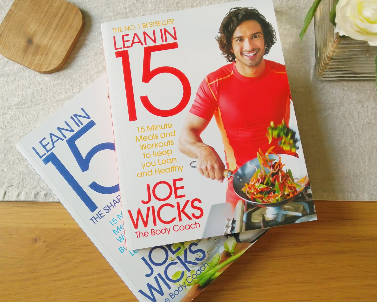 Joe Wicks the Body Coach Lean in 15 books